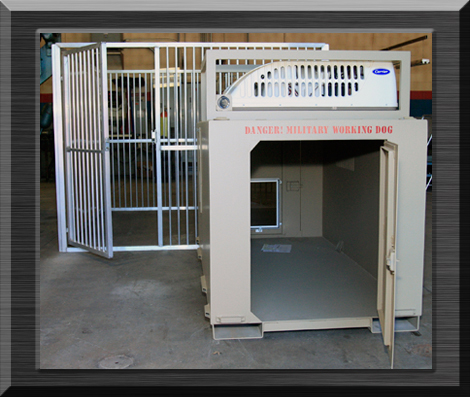 Military Deployment Kennel System